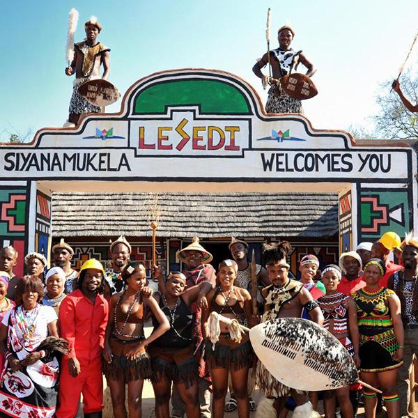 lesedi cultural village steward travel
